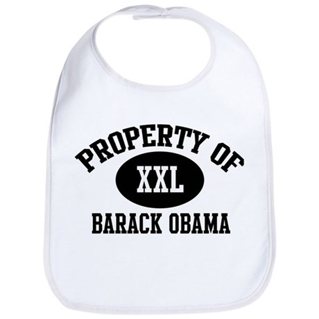 Property of Barack Obama Bib