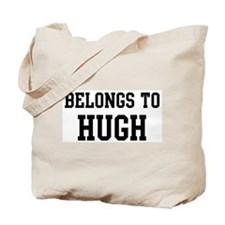 Belongs to Hugh Tote Bag