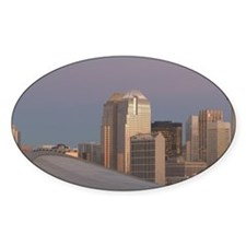 Calgary: City Skyline from Ramsay A Decal
