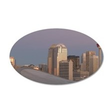 Calgary: City Skyline from R Wall Decal