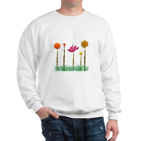 Flute Flowers Sweatshirt