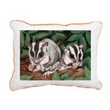 Nicky and Bobbie Rectangular Canvas Pillow