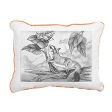Butterfly kisses Rectangular Canvas Pillow