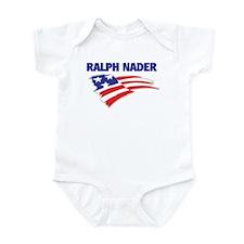 Fun Flag: RALPH NADER Infant Bodysuit