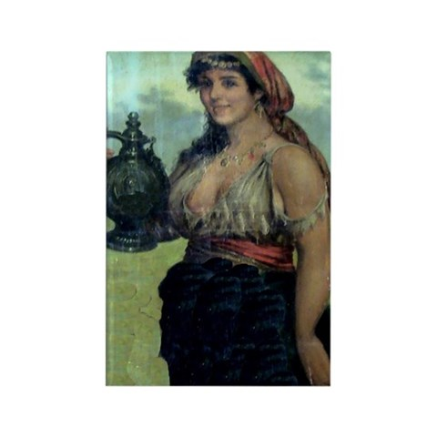 Painting by G.A. Read 1840-1895 Magnet