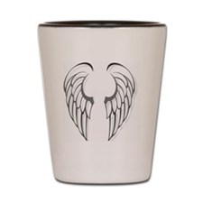Wings - 10 inches Shot Glass