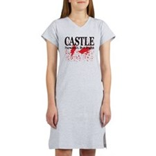 Castle_Bloody-ParanoidRight_lit Women's Nightshirt