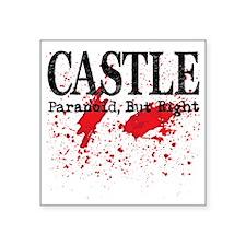 Castle_Bloody-ParanoidRight Square Sticker 3