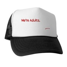Were Adults Blk Trucker Hat