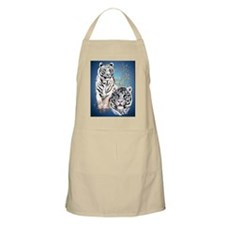 NookSleeve Two White Tigers Apron