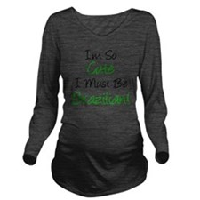 Im So Cute Brazilian Long Sleeve Maternity T-Shirt