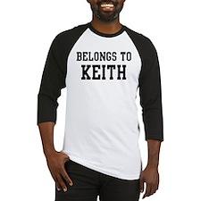 Belongs to Keith Baseball Jersey
