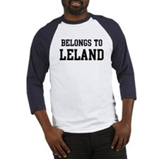 Belongs to Leland Baseball Jersey