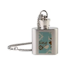 frameSing Flask Necklace