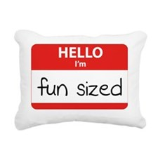 HelloIamFunSized Rectangular Canvas Pillow