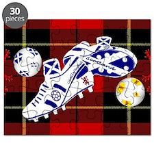 Scotland Football Wallace Tartan 20x12 Puzzle
