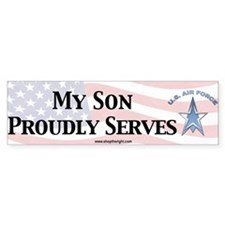 My Son USAF Bumpersticker