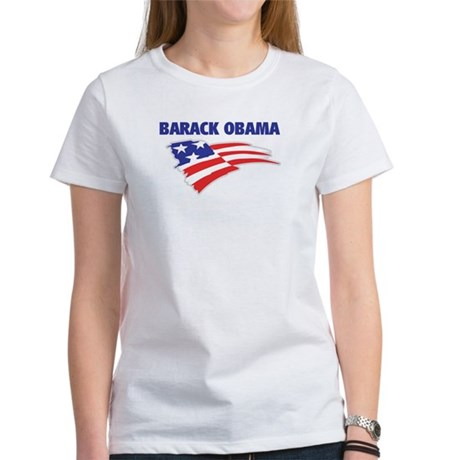Fun Flag: BARACK OBAMA Women's T-Shirt