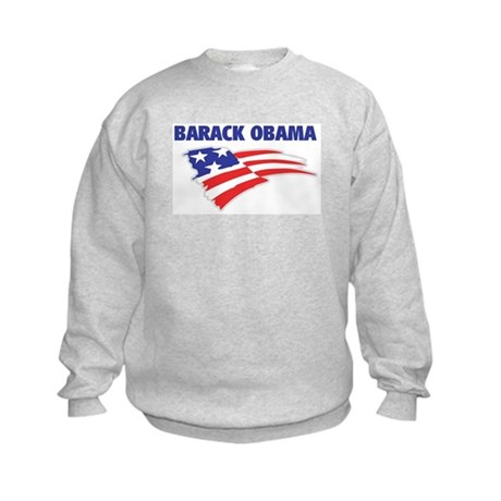 Fun Flag: BARACK OBAMA Kids Sweatshirt