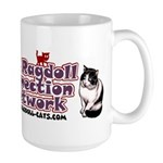 Large RCN Mug - W/Bicolor Ragdoll