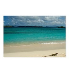 Sapphire Beach. View of S Postcards (Package of 8)