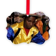 Steel pan carnival in Trinidad Ornament