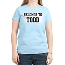 Belongs to Todd T-Shirt