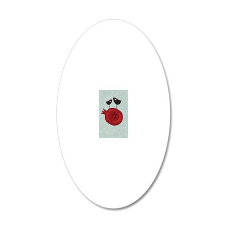 443_iphone_case-2 20x12 Oval Wall Decal