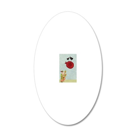 553_h_f-1 20x12 Oval Wall Decal