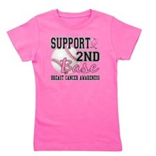 - Second Base 14 Girl's Tee