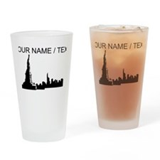 Custom New York City Drinking Glass