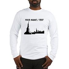 Custom New York City Long Sleeve T-Shirt