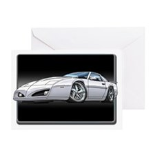 91_92_Firebird_White Greeting Card