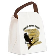 2ndamndmt Canvas Lunch Bag