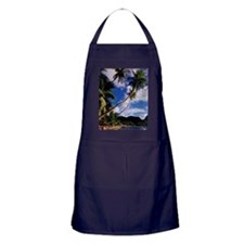 Lucia, Fishing boats and Pitons, Souf Apron (dark)
