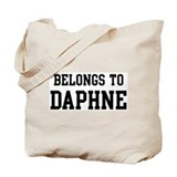 Belongs to Daphne Tote Bag