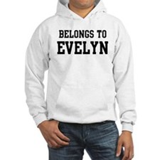 Belongs to Evelyn Hoodie