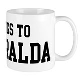 Belongs to Esmeralda Mug