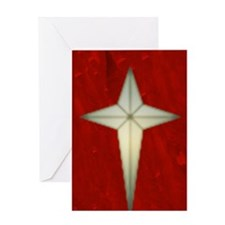 Bethlehem Star Christmas Charms Greeting Card