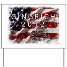 GINGRICH Yard Sign