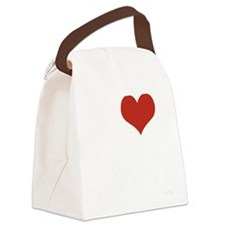 I LOVE MY HUSBAND Canvas Lunch Bag