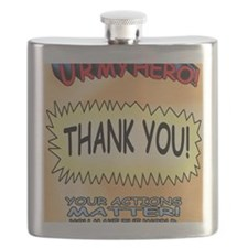 U R My Hero Flask