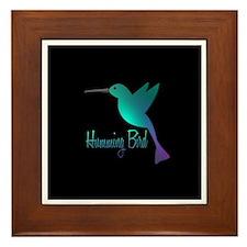 humming bird10 Framed Tile