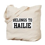 Belongs to Hailie Tote Bag