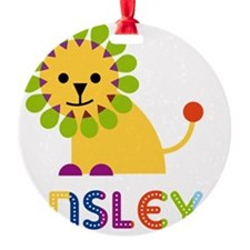 Ansley-the-lion Ornament