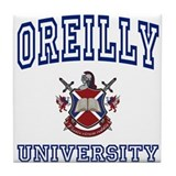 OREILLY University Tile Coaster
