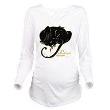 allaboutmeow Long Sleeve Maternity T-Shirt