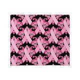 Pink ribbon Fleece Blankets