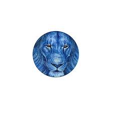 Winter Lion Mini Button