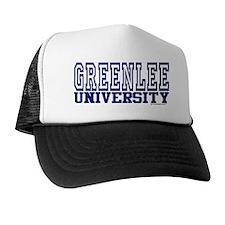 GREENLEE University Trucker Hat